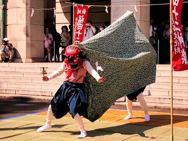 獅子舞 福島 福田十二神楽 5