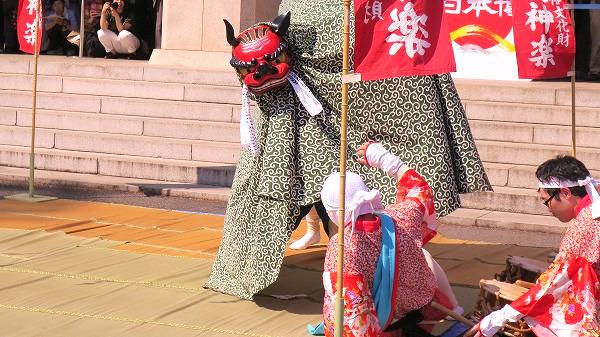 獅子舞 福島 福田十二神楽 11