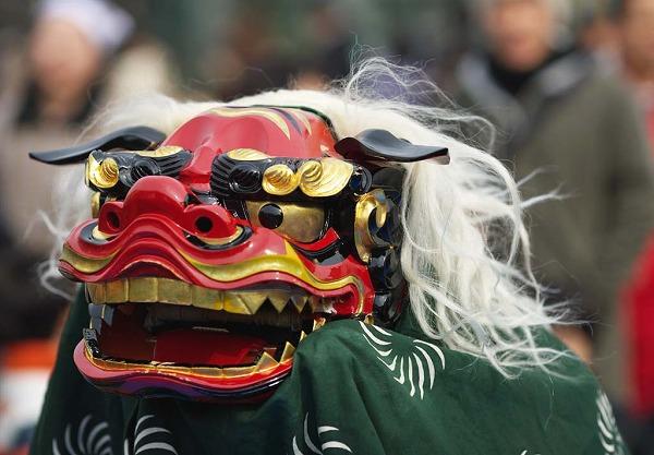 日本の獅子舞