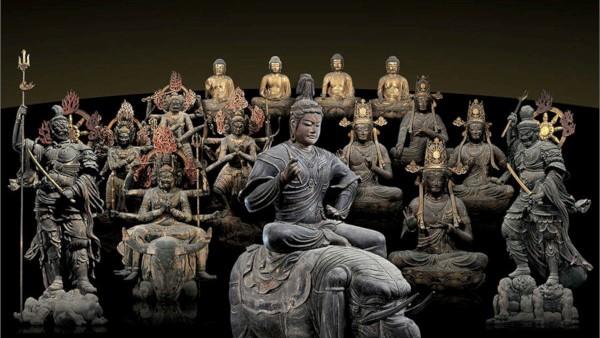 上野 東寺 仏像曼荼羅