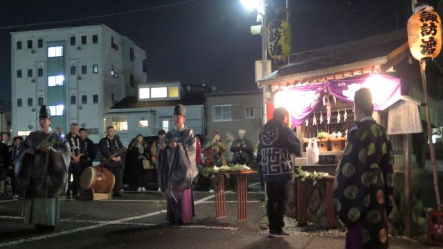 秩父夜祭 2019 諏訪渡り神事