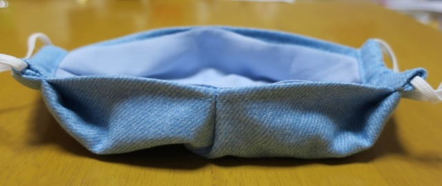 AIRism エアリズム で冷感マスク作り 7