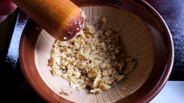 秩父 そばの杜 くるみ蕎麦2