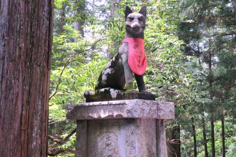 三峯神社 御犬様 狛犬