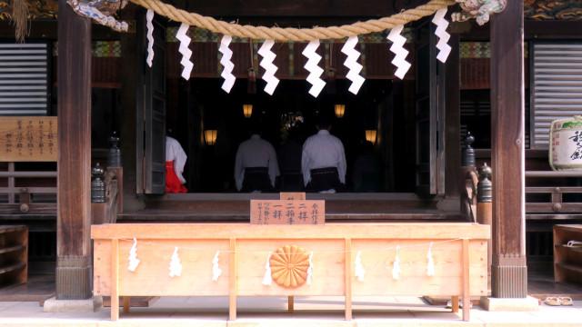秩父神社 朝の祝詞