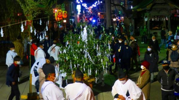 秩父夜祭2020 大榊 藁の龍神 御神幸行列 3