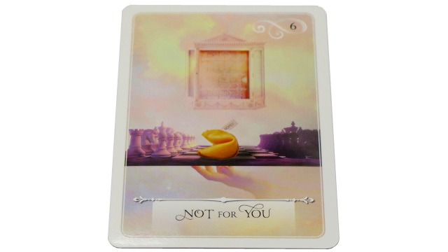 WISDOM ORACLE CARD Not For YOU
