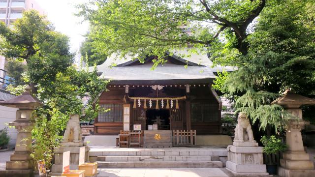 大塚 天祖神社 拝殿 20210529