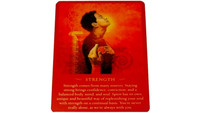 THE SPIRIT MASSAGES STRENGTH