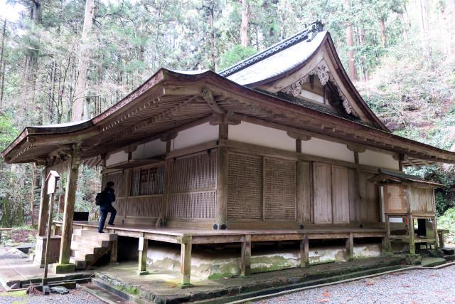 京都 高山寺 金堂 横 20180221