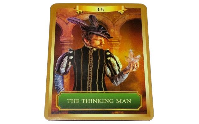 エネルギー オラクルカード THE THINKING MAN 2