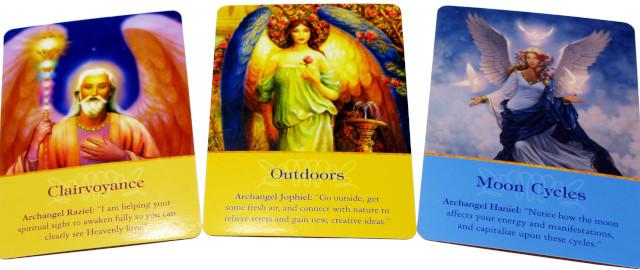 大天使オラクルカード 20210720