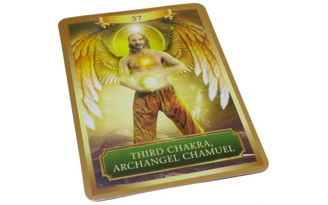 エネルギー オラクルカード third chakra, archangel chamuel