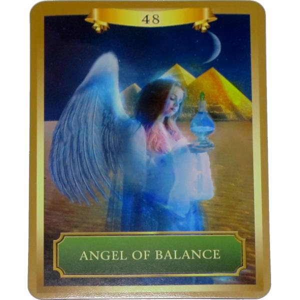 エネルギーオラクルカード バランスの天使 600