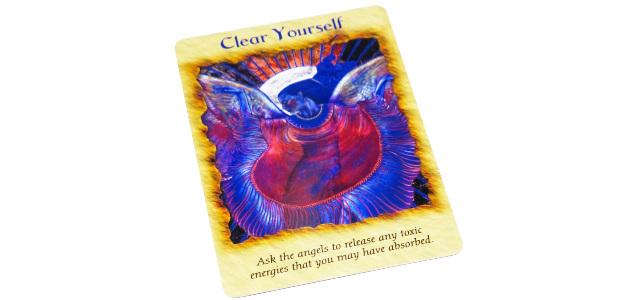 自分自身を浄化する Clear Yourself エンジェルセラピー オラクルカード