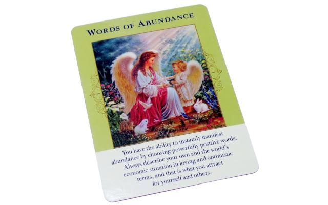 言葉の豊かさ WORD OF ABANDANCE/エンジェル オブ アバンダンス