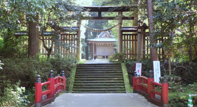 金鑚神社 2021-08 神橋