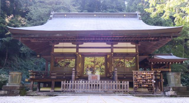 金鑚神社 2021-08 拝殿1