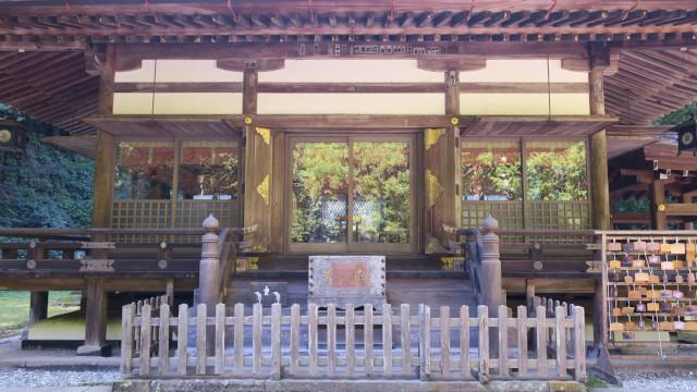 金鑚神社 2021-08 拝殿2
