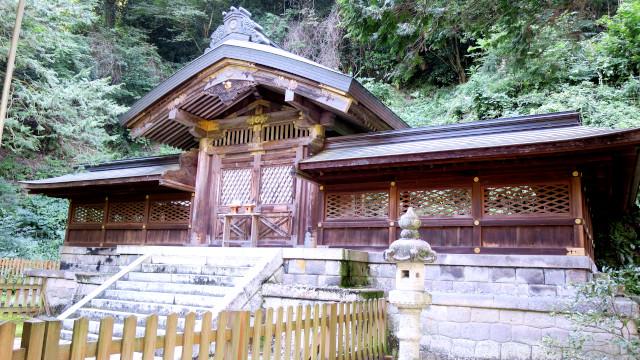 金鑚神社 2021-08 本殿