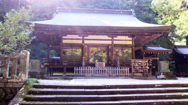 金鑚神社 2021-08 拝殿3