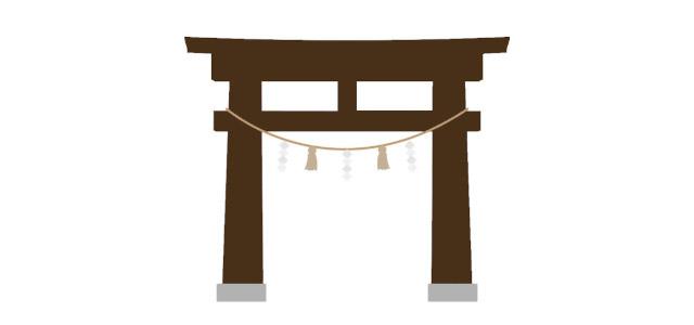 金鑚神社 鳥居