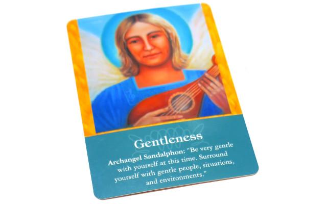 大天使オラクルカード Gentleness 優しさ