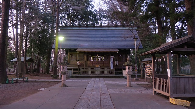 多門院 神明社 拝殿