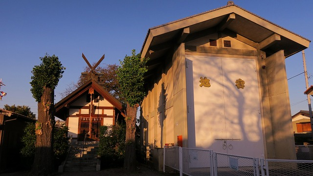 秩父路 徒歩 7km 愛宕神社 宮地 夜祭 屋台収納庫