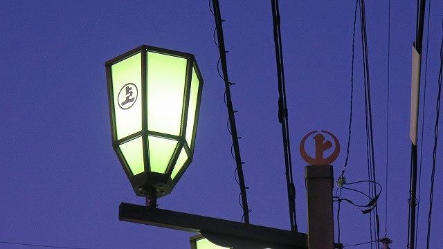 秩父路 徒歩 7km 上町 街灯 夜祭 提灯
