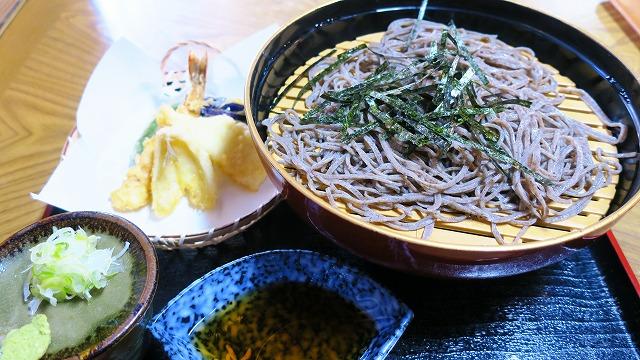 秩父 蕎麦 入船 山くるみ蕎麦 1